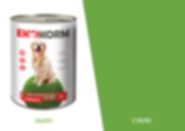 Дизайн упаковки корма для домашних животных EKONORM