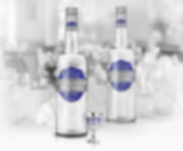 Дизайн этикетки для водки