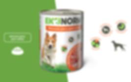 Дизайн упаковки консервов для собак