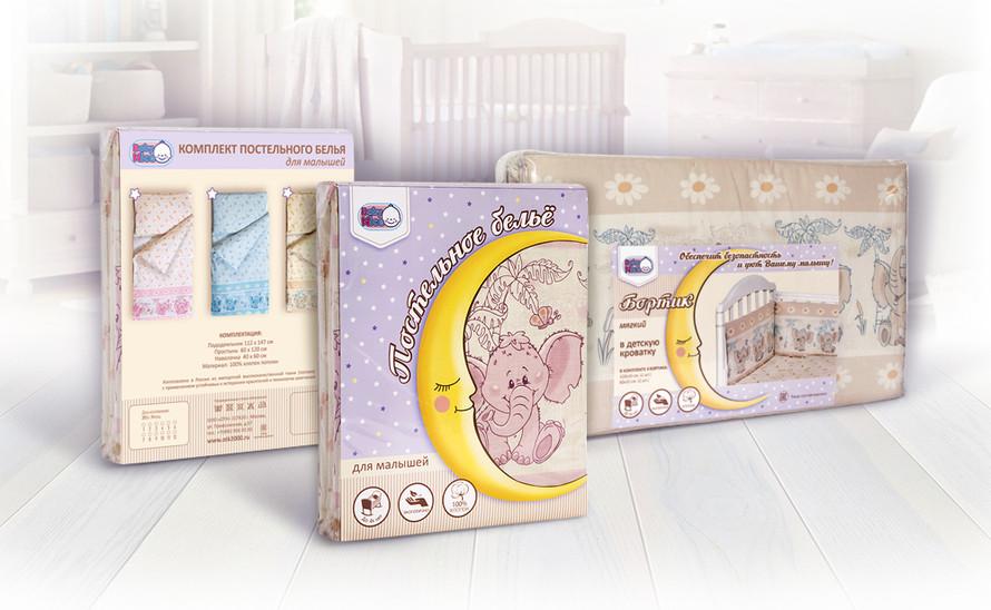 Дизайн упаковки детских товаров