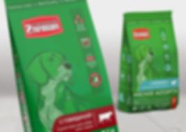 Дизайн упаковки сухого корма для собак