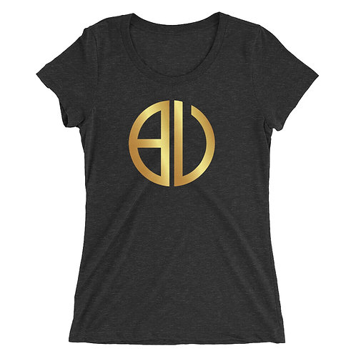 BU Logo Ladies' short sleeve t-shirt