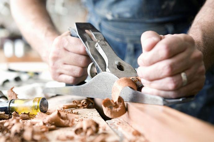 Man Wood Carving