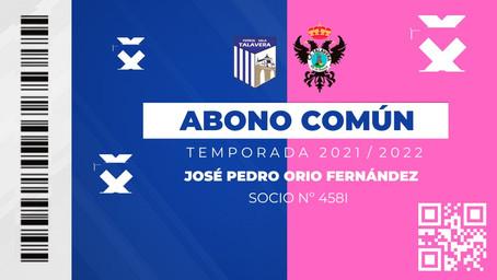 El Soliss FS Talavera y el CF Talavera de la Reina lanzan un carnet conjunto para sus aficionados