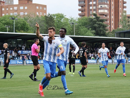 Oasis de felicidad en el CF Talavera