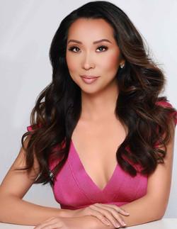 Entrepreneur Lisa Song Sutton pink top