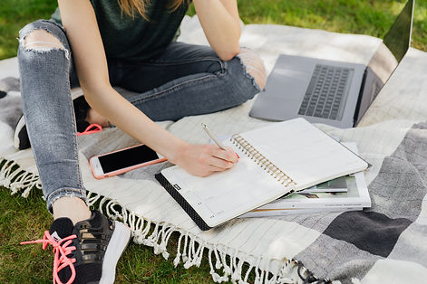 Writer recieving Coaching
