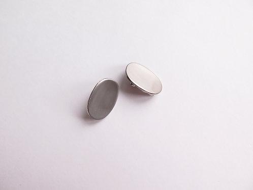Клипсы SOMA/ цвет - серебро