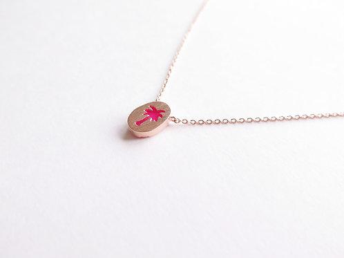 Подвеска PINE / цвет - розовый