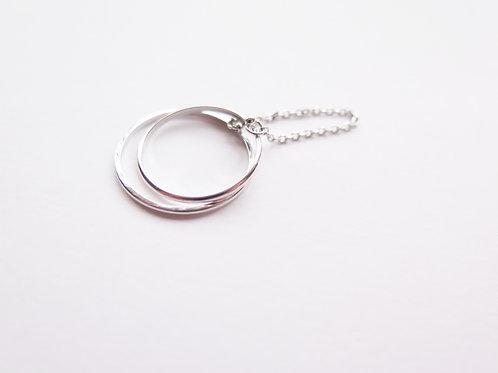 Кольцо MALI / цвет - серебро