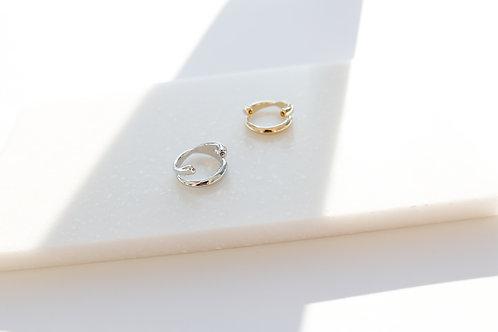 Кольцо GINI/ цвета- золото, серебро