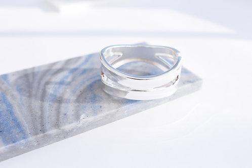 Браслет MILLI/ цвет серебро
