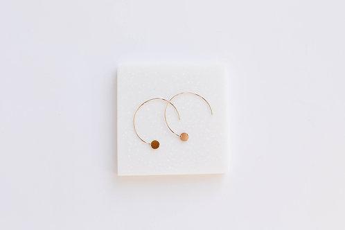 Серьги GIA / цвет -золото