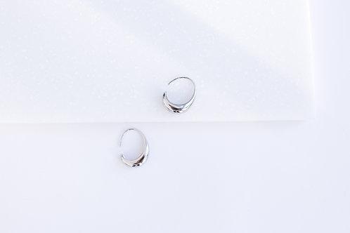 Серьги MIKA / цвет серебро