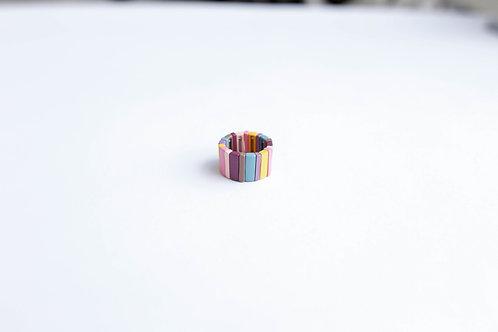 Кольцо IANA /цвет - бордо