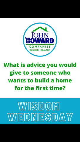 Arthur Howard has some words of advice for future home buyers.