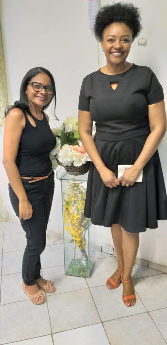 Líderes Lucimar e Joselita
