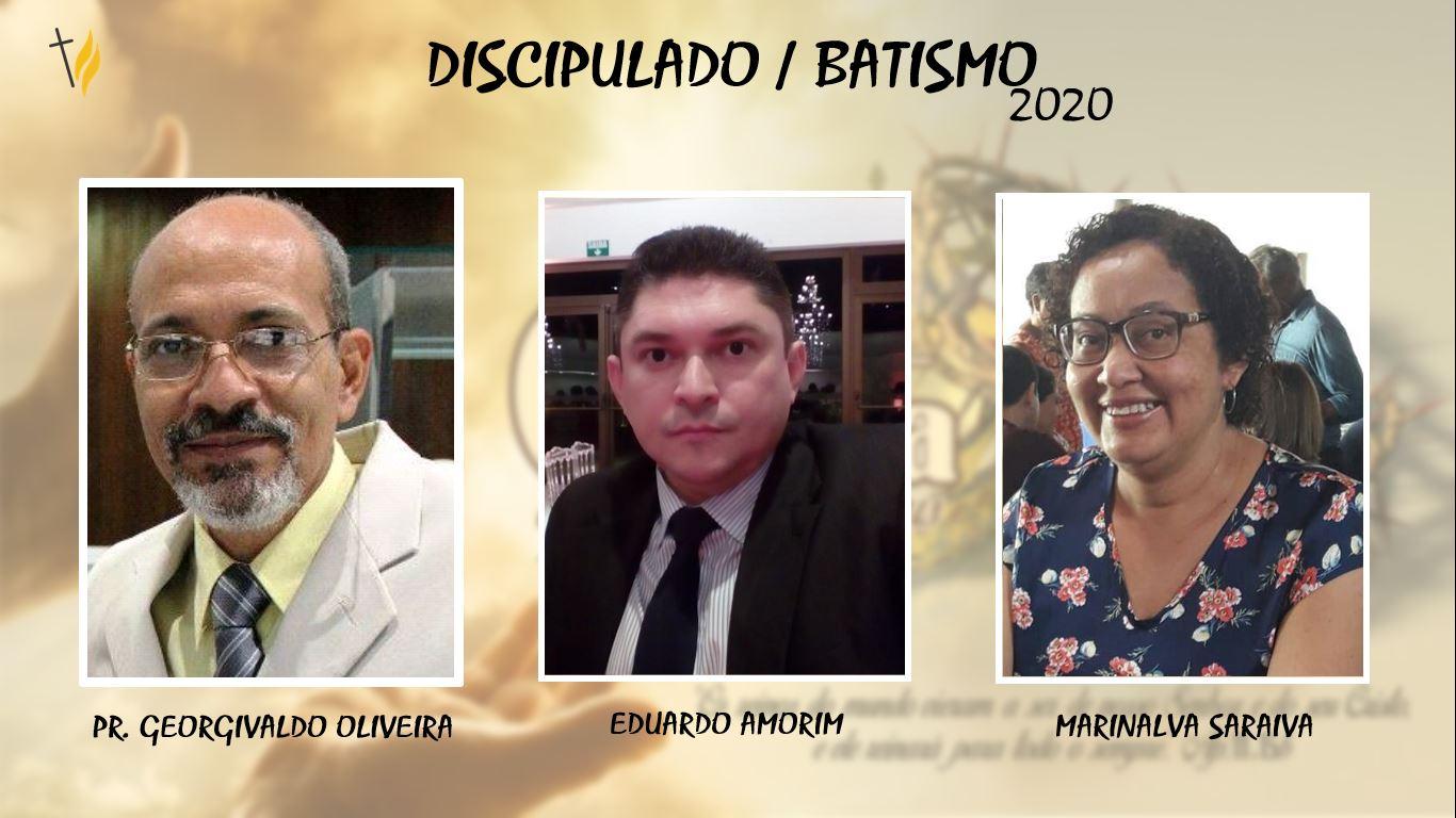 Discipulado / Batismo