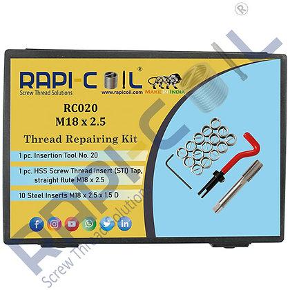 Thread Repairing Kit M18 x 2.5