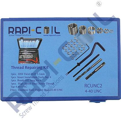 Thread Repairing Kit 4-40 UNC