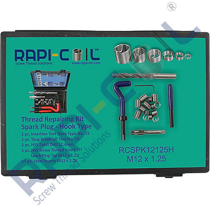 Spark Plug Thread Repair Kit M12 x 1.25