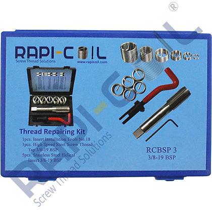 Thread Repairing Kit 3/8-19 BSP