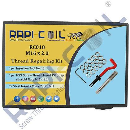 Thread Repairing Kit M16 x 2.0