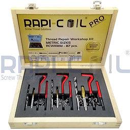 Thread Repairing Workshop Kit - Titanium Nitride - 87pcs