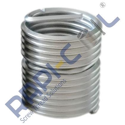 Wire Thread Inserts AISI 304-Screw Locking Type