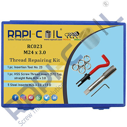 Thread Repairing Kit M24 x 3.0