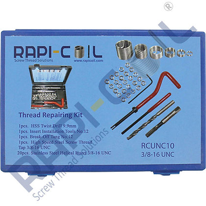 Thread Repairing Kit 3/8-16 UNC