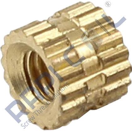 Brass Molding Inserts BMI-4