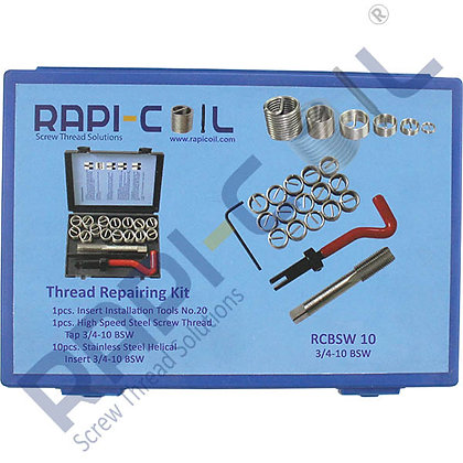 Thread Repairing Kit 3/4-12 BSW