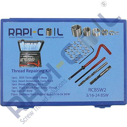 Thread Repairing Kit 3/16-24 BSW