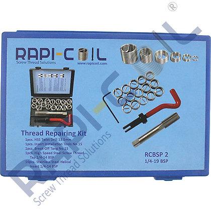 Thread Repairing Kit 1/4-19 BSP