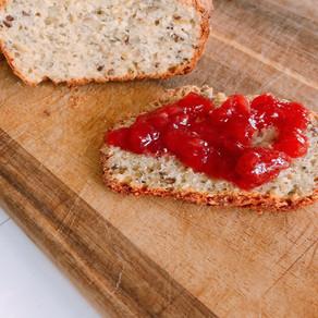 Glutenfritt brød med kjerner!