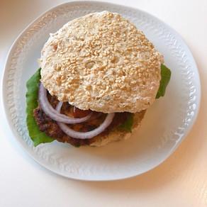 Glutenfrie burgerbrød!
