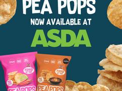 Pea Pops now in Asda!