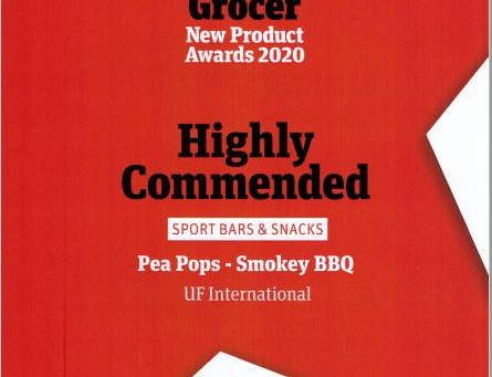 Pea Pops - Highly Commended by The Grocer