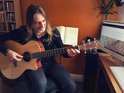 Steve Gardiner | Guitar Lessons | Home Studio | Online Skype Video Lessons
