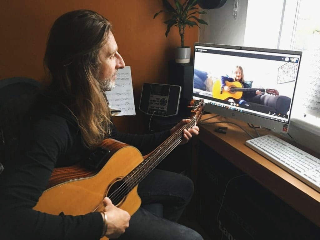 Steve Gardiner | Guitar Lessons | Online Skype Video Lessons