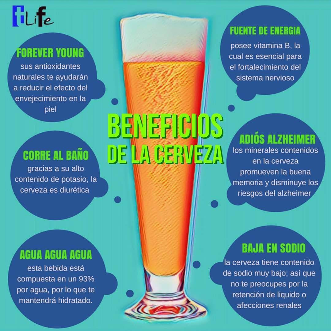 best sneakers 479e8 690fa Beneficios de la cerveza