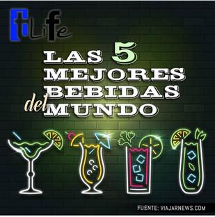 Las 5 mejores bebidas del mundo .