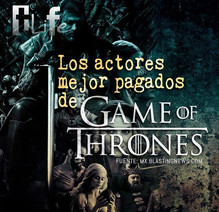 Los actores mejor pagados de 'Game of Thrones'