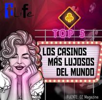 Top 5️⃣ de los casinos más lujosos del mundo