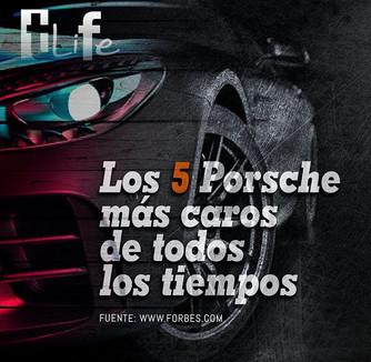 Los 5 Porsche más caros de todos los tiempos .