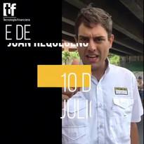 """EXCLUSIVA: Juan Requesens @juanrequesens para Tecnología Financiera """"Todos a votar este 16 de Julio, es la oportunidad para hacernos escuchar"""""""