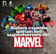 ¿Sabes cuánto ganan los superhéroes de Marvel?