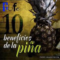 10 beneficios de la piña.