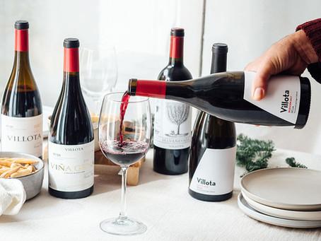 La evolución de los vinos Villota: cosechas 2016-2018